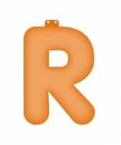 Feest letter r opblaasbaar