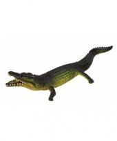 Feest levensechte krokodil 30 cm