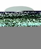 Feest lichtblauwe ronde deurstopper 7 x 7 5 cm