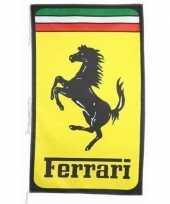 Feest logo vlag ferrari 150 x 90 cm 10091379