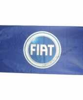 Feest logo vlag fiat 150 x 75 cm