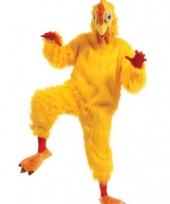 Feest luxe dieren kostuum kip