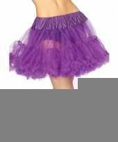 Feest luxe petticoat voor dames paars