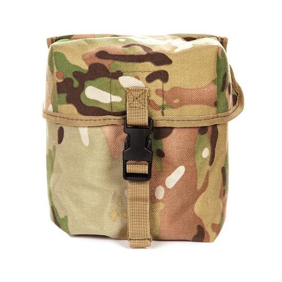 Feest luxe soldaten munitie tas vierkant
