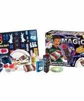 Feest magische goocheldoos 150 delig inclusief dvd