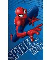 Feest marvel spiderman badlaken strandlaken 70 x 120 cm