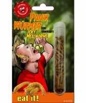 Feest meelwormen in buisje