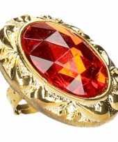 Feest mega ring met diamant 10159226