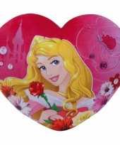 Feest meisjeskamer kussen doornroosje hartje