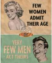 Feest metalen plaat admitting age