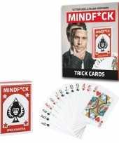 Feest mindfuck magie kaartspel met 25 illusies voor kinderen