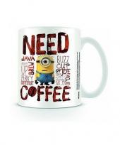 Feest minions koffiemok porselein