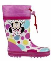Feest minnie mouse regenlaarzen voor meisjes