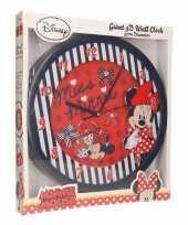 Feest minnie mouse rode klok 3d 10096278