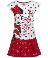 Feest minnie mouse rood rokje met-shirt meisjes