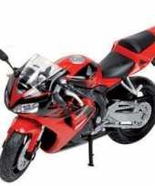 Feest model speelgoed motor honda cbr 1 18