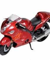 Feest model speelgoed motor suzuki 1 18