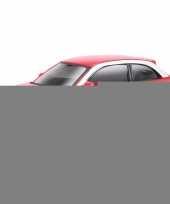 Feest modelauto audi a1 rood 1 43