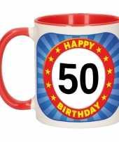 Feest mok verjaardag 50 jaar 300 ml