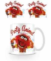 Feest mokken muppets party animal
