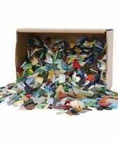 Feest mozaiek glas kleuren 8 20mm