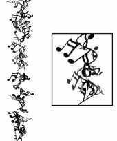 Feest muzikale hangdecoratie 63 cm