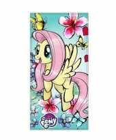 Feest my little pony badlaken strandlaken fluttershy 70 x 140 cm