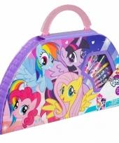 Feest my little pony kleurkoffer