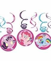 Feest my little pony rotorspiralen 6 stuks