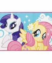 Feest my little pony tapijt 120 x 80 cm