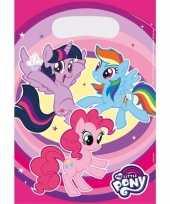 Feest my little pony uitdeelzakjes 8 stuks
