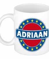 Feest namen koffiemok theebeker adriaan 300 ml