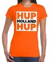 Feest nederlands elftal supporter shirt hup holland hup oranje voor da 10151375
