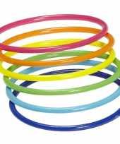 Feest neon armbandjes 18 stuks