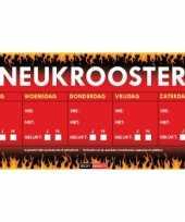 Feest neukrooster per week sticky devil sticker