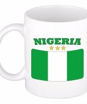 Feest nigeriaanse vlag theebeker 300 ml