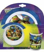 Feest ninja turtles ontbijtset
