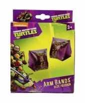 Feest ninja turtles zwemvleugels paars