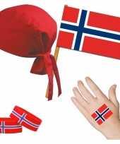 Feest norwegen noors thema verkleed set voor volwassenen