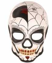 Feest oogmasker day of the dead halloween