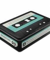 Feest opbergbox retro 80s cassette