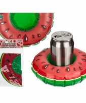 Feest opblaas watermeloen drankjes houder 18 cm