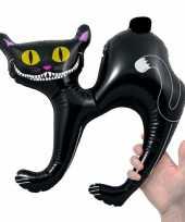 Feest opblaas zwarte katten 41 cm