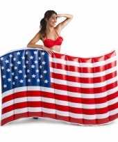 Feest opblaasbare vlag usa 150 cm