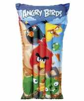 Feest opblaasbed zwembad angry birds
