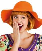 Feest oranje hippie flaphoed