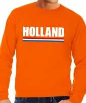 Feest oranje holland supporter sweater volwassenen
