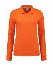 Feest oranje kleding dames sweater