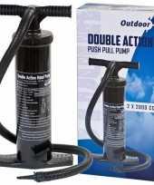 Feest outdoor luchtpomp 2l zwart