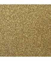 Feest papier glitter goud vel
